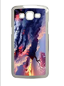 for sale cover Cherry Tree Volcano PC Transparent case/cover for Samsung Galaxy Grand 2/7106