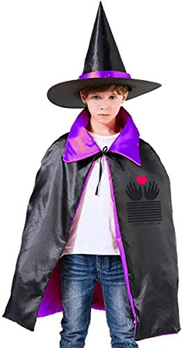 I Have A Dream with My Own Two Hands, Funny at Halloween Parties Red King's Speech Wizard Hat Cape Cloak