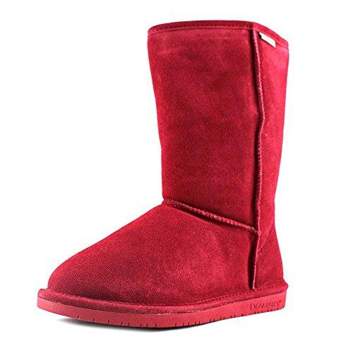 BEARPAW Womens Emma Fashion Boot Cranberry