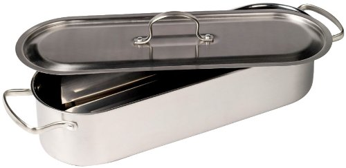 Denmark Stainless Steel Fish Poacher/Vegetable Cooker TTU-I1217