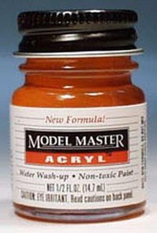 (Testors Model Master Acrylic Gloss International Orange FS12197)