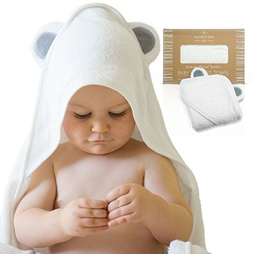 Baby Absorbent Back Towel (Bear) - 7
