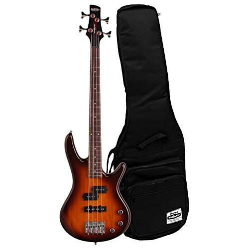 (Ibanez GSRM20BS Mikro 4 String Brown Sunburst Bass with Gig Bag)