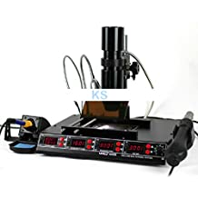 KOHSTAR Infrared BGA Hot Air Rework Station Hot Air Gun + 540W Preheating Station + 75W Soldering Iron 1000B