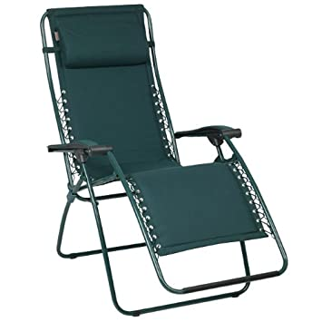 lafuma chaise relaxante inclinable idal pour la rflexologie vert - Chaise Relaxante