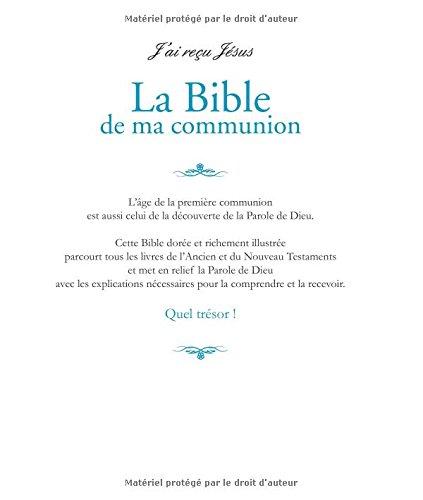 Exceptionnel Amazon.fr - La Bible de ma communion - François Campagnac  LZ24