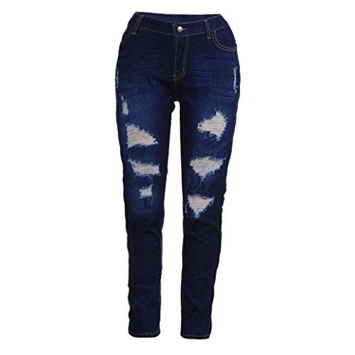 Jean Fonc Taille Automne Haute Jeans Fonc Hiver Skinny Grande Trousers Pantalon Denim Taille Overdose Bleu Bleu Femme Slim Sexy Stretch Sexy Pantalons qgvt1