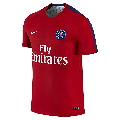 Nike Paris Saint-Germain Pre-Match 2 Soccer Jersey (XX-Large) University Red