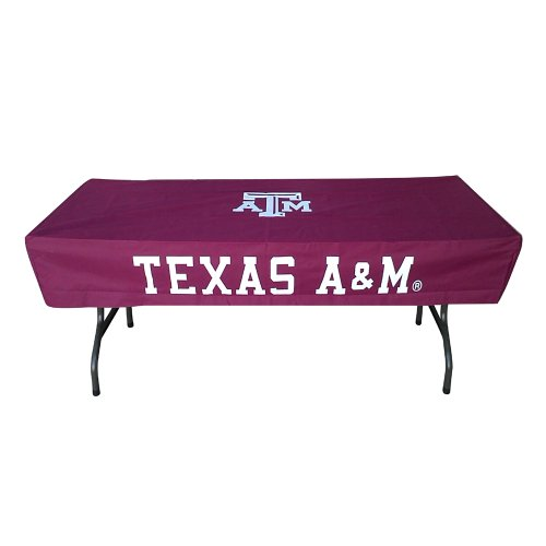 Rivalry Sports College Team Logo Texas A&M 6 Foot Table (Texas A&m Pool Table)