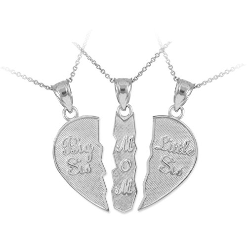Personalized Sterling Daughters Breakable Necklace