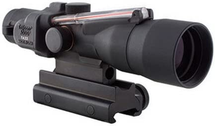 Trijicon TA33-C-400164 ACOG 3x30mm Compact Dual Illuminatedx 40mm, Red Crosshair .300 Blackout 115/220gr Ball Reticle, Colt Knob Thumbscrew Mount
