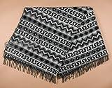 Mission Del Rey Southwest Designer Brushed Alpaca Fleece Blanket 64x80