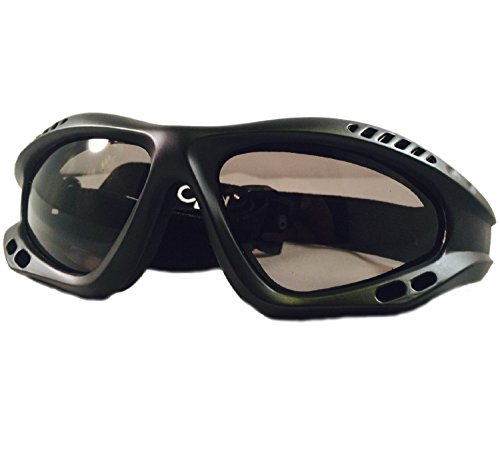 MissionSpin Anti Fog Glass Goggles with Case and Cleaning - Sky Diving Glasses