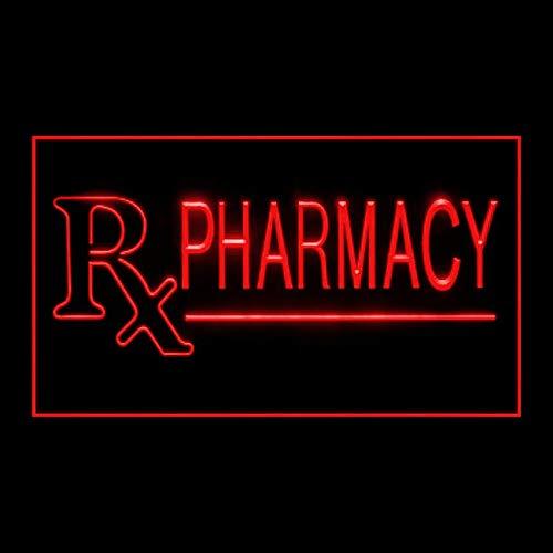 200102 Pharmacy Drugs Pills Mecidine Prescription Display LED Light Sign
