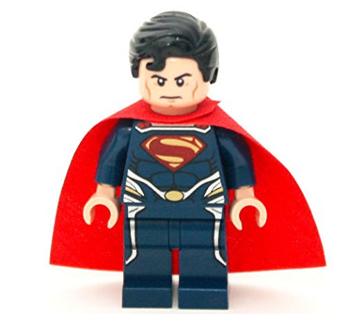 New Lego Superman Minifig Figure Minifigure 76002 76003 76009 Man of Steel DC