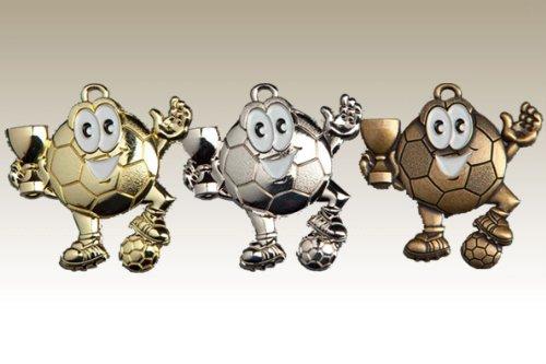 Kindermedaille 9147 bronze - Medaillen für Kinder / Kindergeburtstag Fußball
