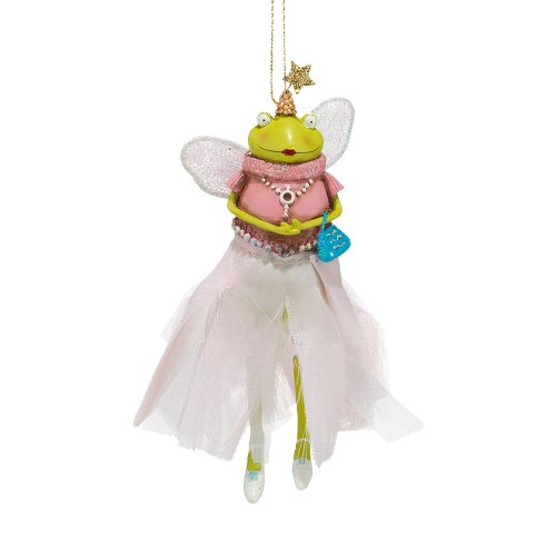 Department 56 Tina Givens Freya Frog Ornament, 5.35 inch