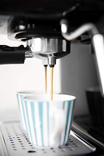 IKOHS THERA RETRO - Macchina del Caffè Express per caffè espresso e cappuccino, 1100 W, 15 bar, vaporizzatore regolabile… 4