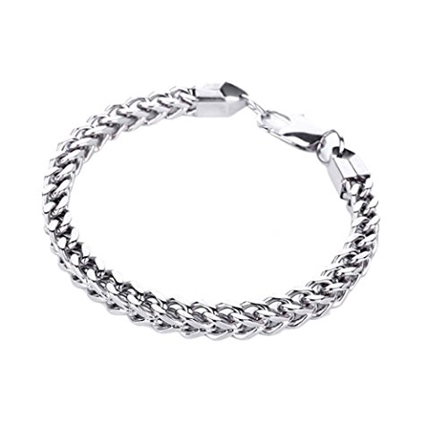 Celendi_ Jewelry Bracelet Stainless Steel Titanium Bracelet for Men Women - Stainless Actual Image Steel