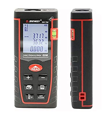 SNDWAY T Series Laser Distance Meter Digital Diastmeter Laser Rangefinder
