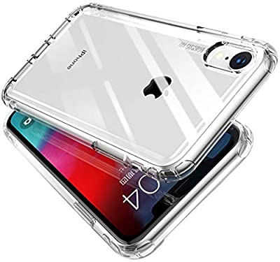 Case for iPhone XR, MKOAWA [Tank Series] Premium Hybrid Protective TPU and PC Clear Cases for iPhone XR 6.1 Inch 2018 Release