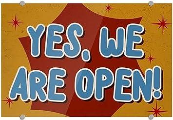 Chalk Burst Premium Acrylic Sign 36x24 Open House CGSignLab