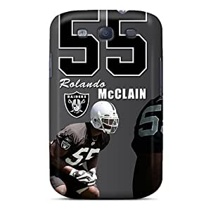 Durable Protector Case Cover With Oakland Raiders Hot Design For Galaxy S3