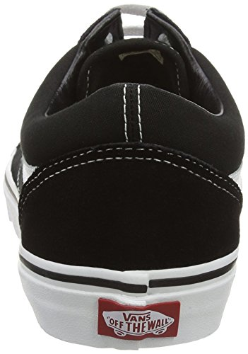Amazon.com | Vans Mens Old Skool(tm) Core Classics, (Black/White), Womens 14 | Skateboarding