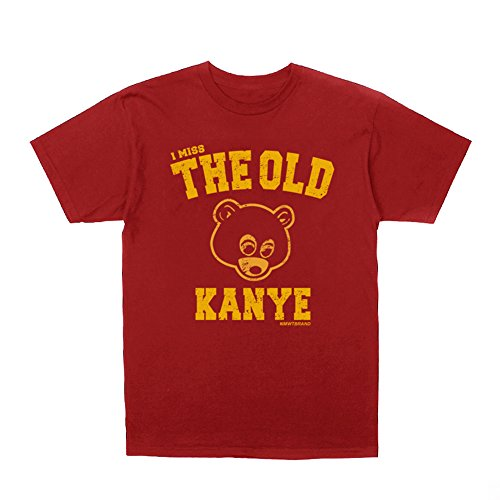 Kanye West I Miss The Old Kanye College Dropout T-Shirt + Hip-Hop Stickers (L) by InMyWhiteTee