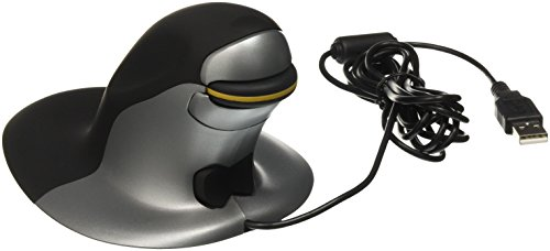 Penguin Ambidextrous Vertical Mouse Wired Medium by Posturite