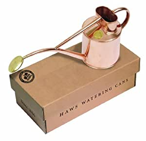 Bosmere V181 Haws Indoor 2-Pint/1-Liter Watering Can with Rose and Gift Box, Copper