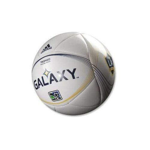 Los Angeles Galaxy Adidas Tropheo MLS Soccer Ball.Youth League Size #4 (Ages 8-12). Match Ball Replica. Brand New! A Quality Ball.
