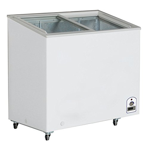 DUURA-DVFD71-Flat-Glass-Display-Freezer-White
