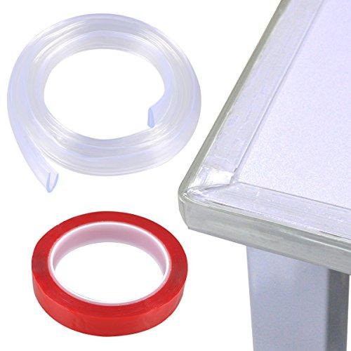 Cunina 2m Baby Safety Bumper Strip Table Corner Protector Gurad Edge Corner Cushion Strip Large Size