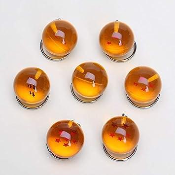 Yvonnezhang 7 unids / Set 2.5 cm Dragonball Dragon Ball Z 7 ...