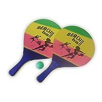 Beachballset / Beachballspiel / Strandspiel mit Ball, Strandmotiv
