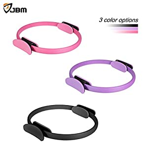 JBM Pilates Ring Fitness Ring 4 Colors, Pilates Circle Fitness Magic Circle Fitness Training, Full-Body Workout, Barre – Toning, Sculpting, Strength, Flexibility