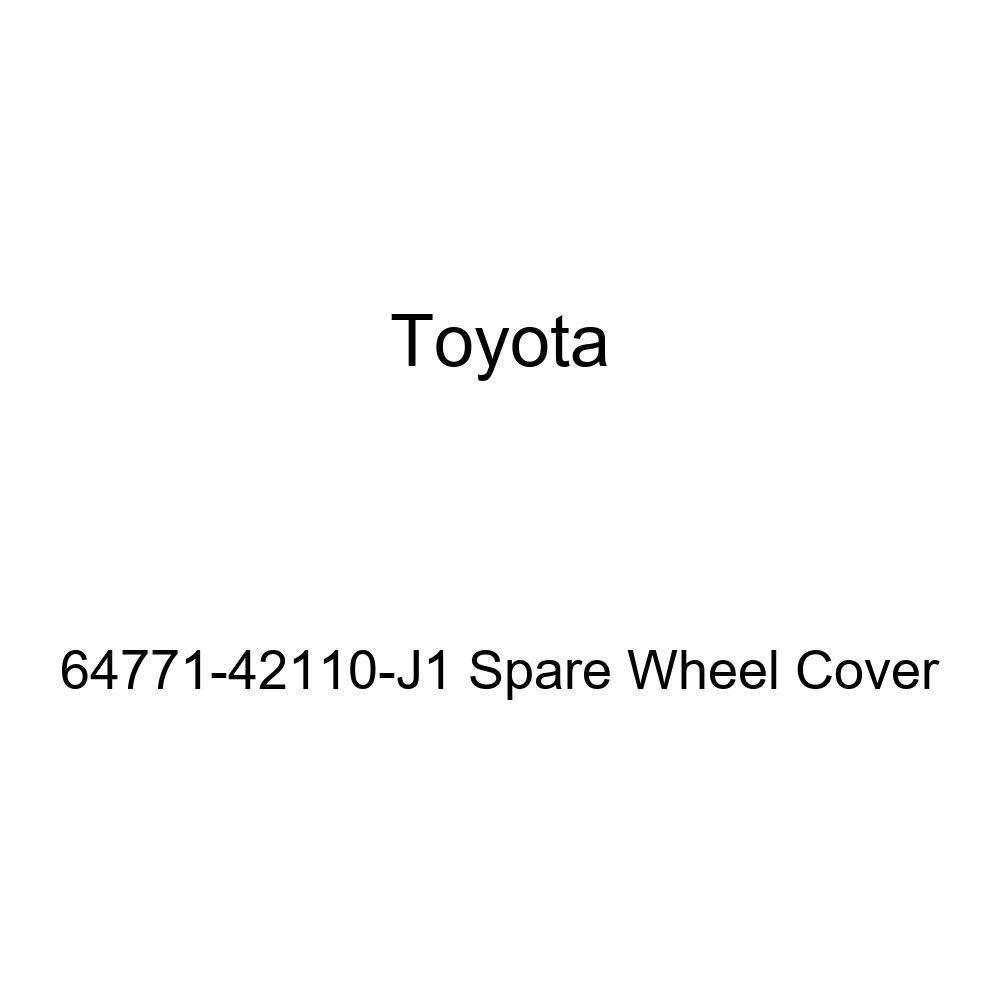 Toyota Genuine 64771-42110-J1 Spare Wheel Cover