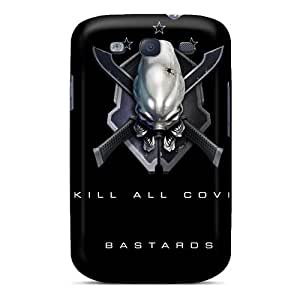 Premium Halo 3 Legendary Back Cover Snap On Case For Galaxy S3