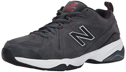 New Balance Mens MX608V4 Training Shoe,Black,10 D US Dark Grey