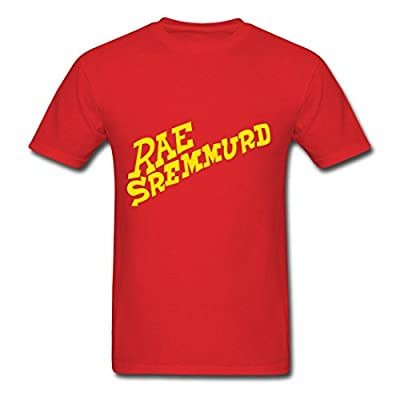 CHILL Printed Men's Rae Sremmurd T-Shirts red