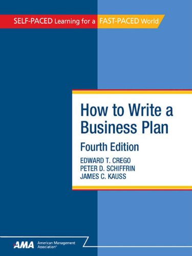 How To Write A Business Plan Ebook