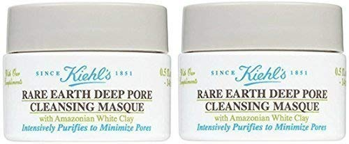 Kiehls Rare Earth Deep Pore Cleansing Masque, Set of 2, Total ()