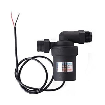 XCSOURCE® Bomba Circulación Agua Caliente CC 12V Energizada Batería Solar Color Negro TE091: Amazon.es: Amazon.es