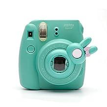 Cute Bunny Selfie And Close Up Lens Shot Mirror For Fujifilm Instax Mini9/8+/8/7 Mini11s Hellokitty Instant Camera (Mint Bunny)