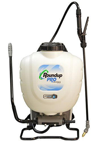 Poly Gallon Piston Pump 4 (Roundup PRO 190412 No Leak Pump Backpack Sprayer for Herbicides)