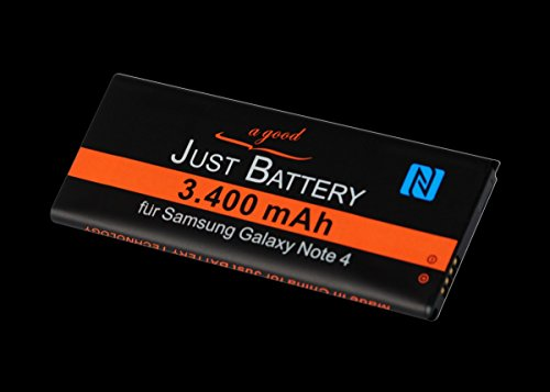 3.400 mAh original JuBaTec-Akku mit NFC für Samsung SM-N910F Galaxy Note 4 EBBN910BB