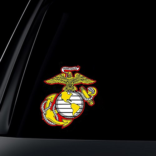U.S. Marine Corps Semper Fidelis Car Decal / Sticker ()