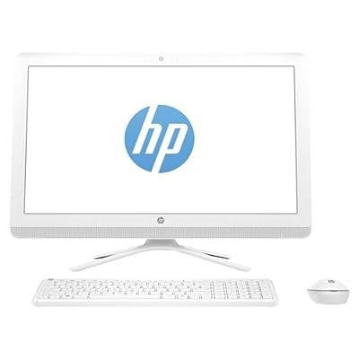 """HP 24-G049 ALL-IN-ONE Core i3-6100U 2.3GHz 1TB 12GB 24"""" (1920x1080) DVD-RW WIN10 SNOW WHITE Wireless KB & Mouse"""