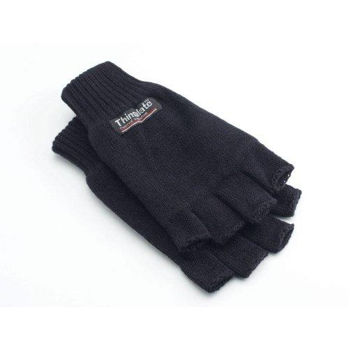 Yoko Unisex 3M Thinsulate Thermo Winter/Ski Halbfinger Handschuhe